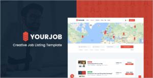 Creative Job Portal HTML5 Template
