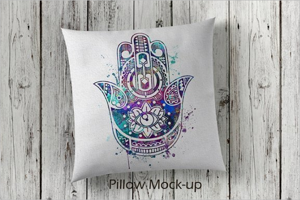 Creative Mockup Pillow Design
