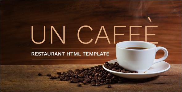 Cuisine Restaurant HTML Template