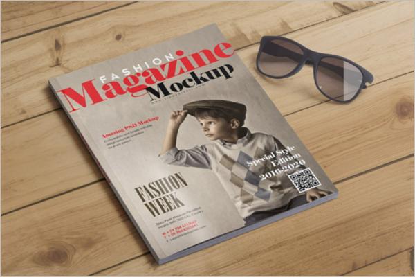 CustomizableMagazine Mockup Template