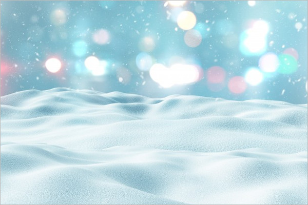 Customizable Winter Background Template