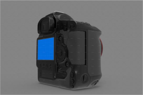 DSLR Camera Mockup