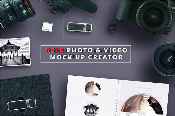 DSLR Video Mockup
