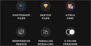 Dark Agency HTML Template