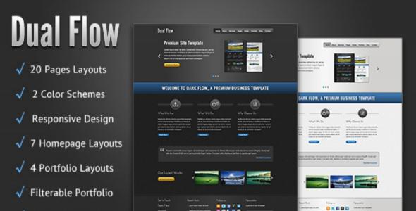 Dark Blog HTML Template
