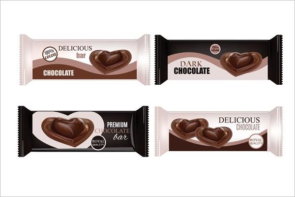 Dark Chocolate Bar Design