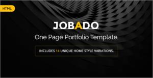 Dark Portfolio HTML Template