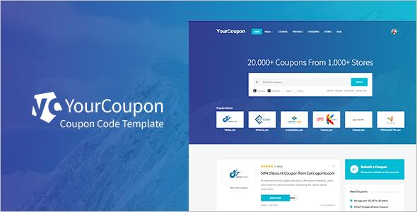 Deals & Coupons WordPress Theme