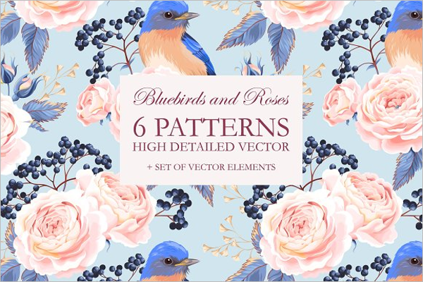 Decoration Rose Seamless Pattern