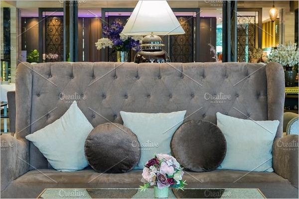 Decorative Pillow Mockup Template