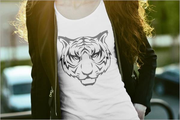 Designer T-Shirt Mockup