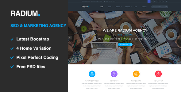 Digital Agency HTML5 Template