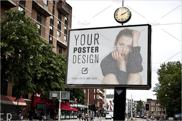 Digital Display Advertising Mockup Template