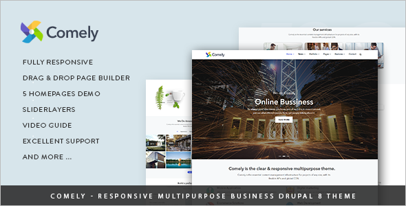 Drupal Corporate Clean Theme