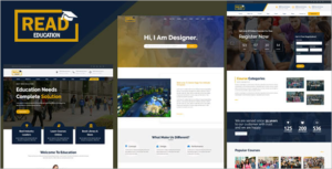 E Learning HTML Template
