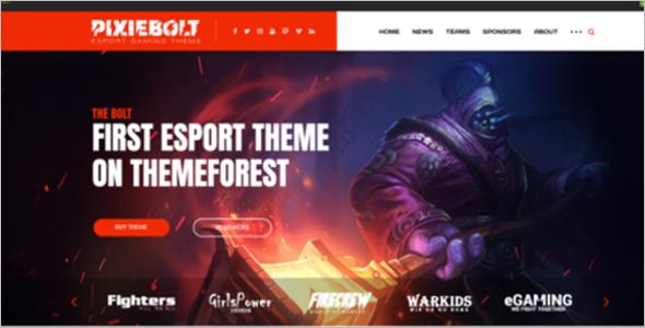ESports Gaming Theme