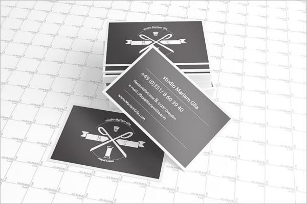 Editable Business Card Mockup