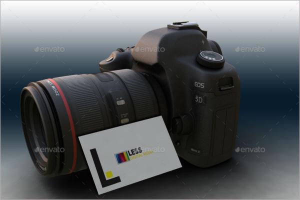 Editable Camera Mockup