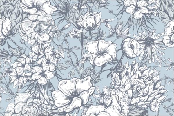 Editable Floral Pattern Design