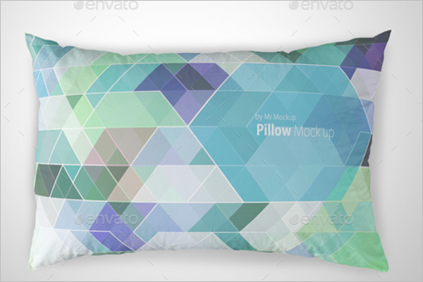 Editable Pillow Mockup Template