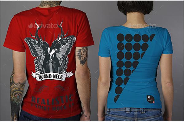 Editable T-Shirt Mockup