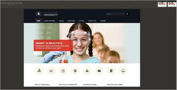 Education Drupal Theme