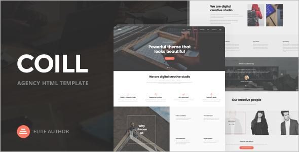 Elegant Agency HTML5 Template