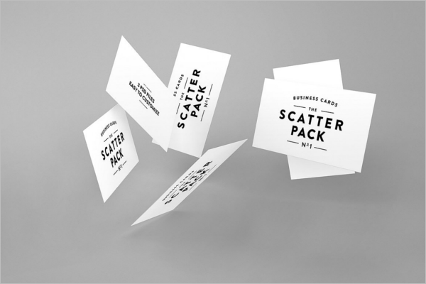 Elegant Business Card Mockup Design
