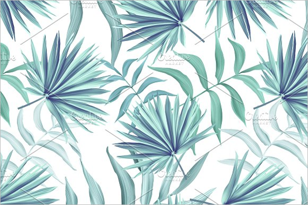 Elegant Leaves Seamless Pattern
