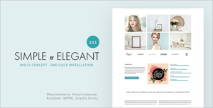Elegant Multi-Purpose WordPress Theme