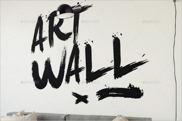 Elegant Wall Poster Mockup