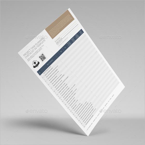 Employee Task Listing Template