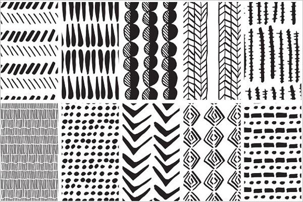 Ethnic Fabric Pattern Design