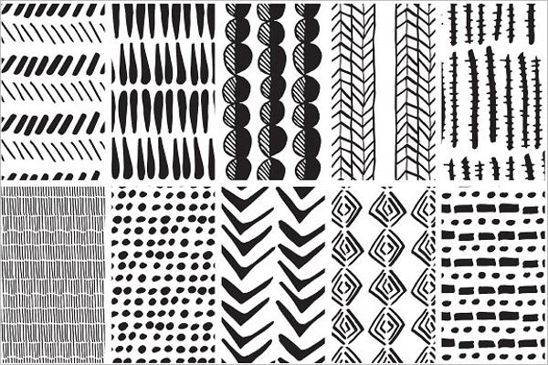 Ethnic Fabric Pattern Design