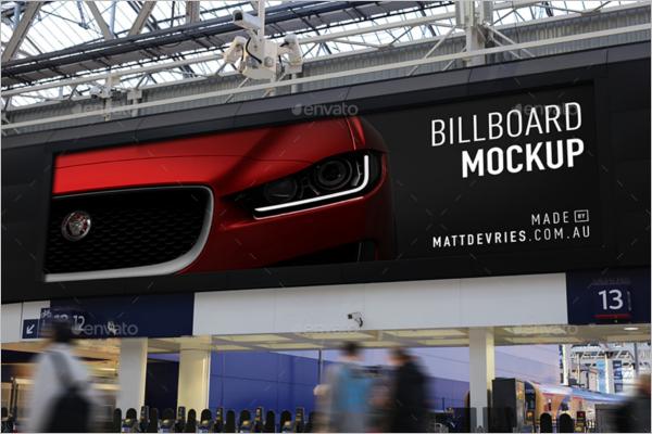 Event Branding Advertising Mockup Template