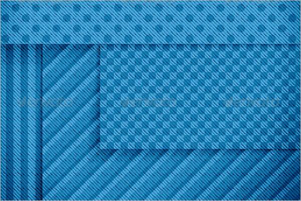 Fabric Banner Seamless Pattern