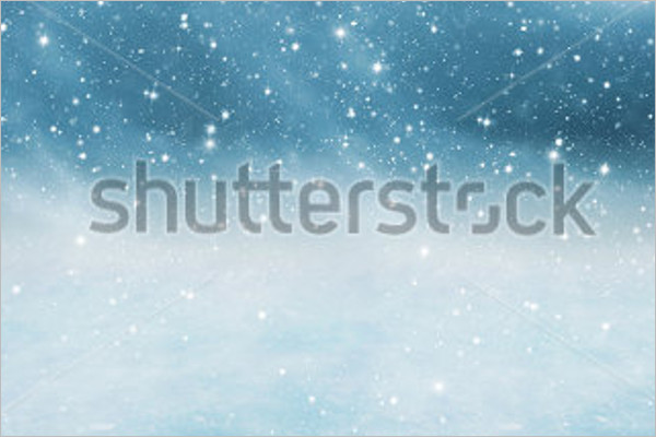 Falling Snow Background Design