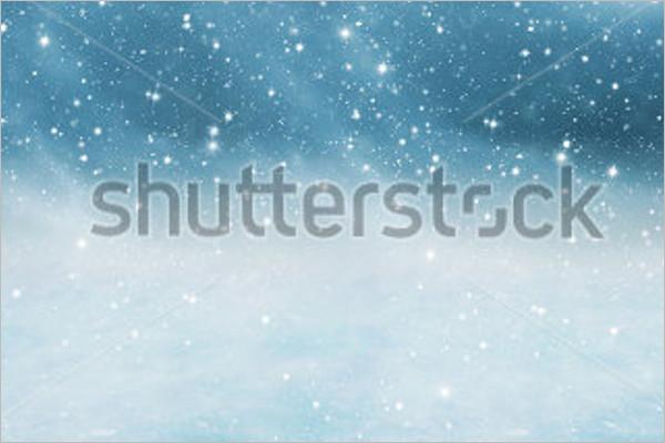 Falling Snow Background Design