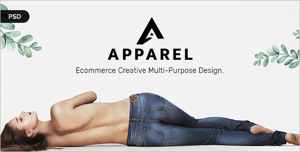Fashion E-Commerce PSD Template
