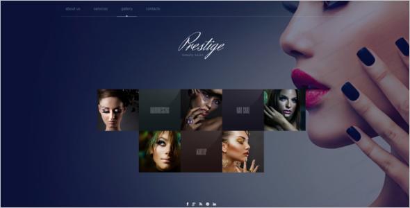 Fashion SalonWebsite Template