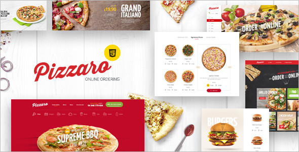 Fast Food HTML Template