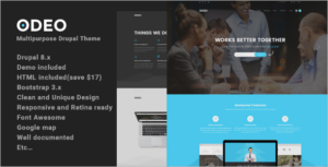 Fast Performance Drupal 8 Theme