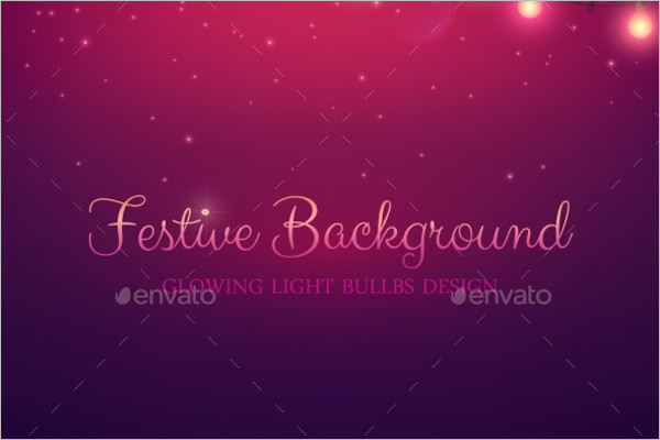 Festive Abstract Vector Background