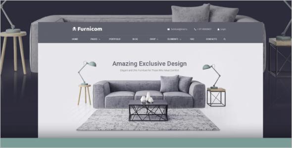 Furniture Agency WordPress Theme