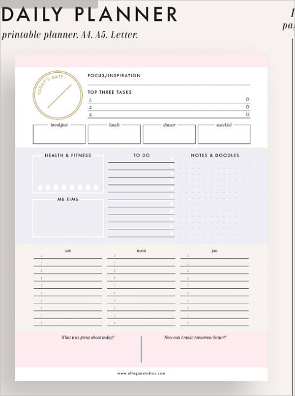 Fitness & Weight Loss Chart Template