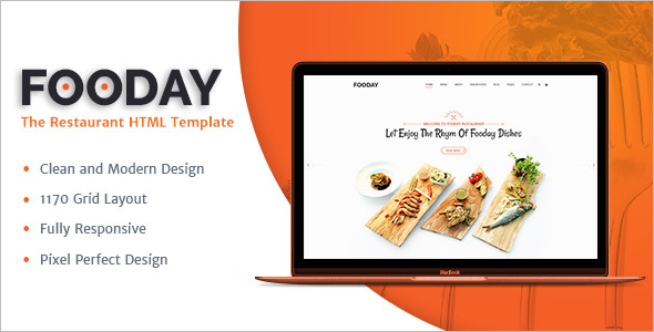 Food Restaurant HTML Template