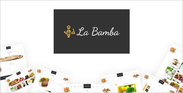 Food & Restaurant HTML Template