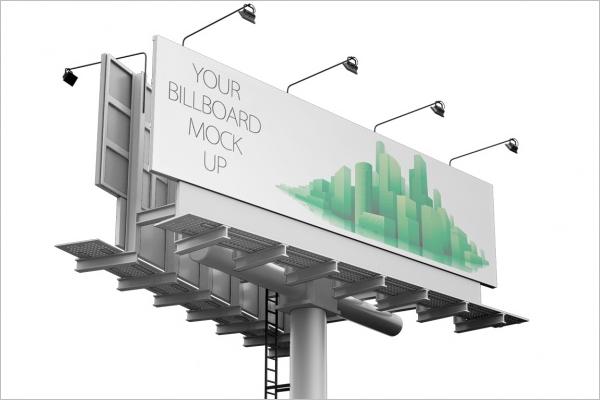Free Bill Board Mockup Template