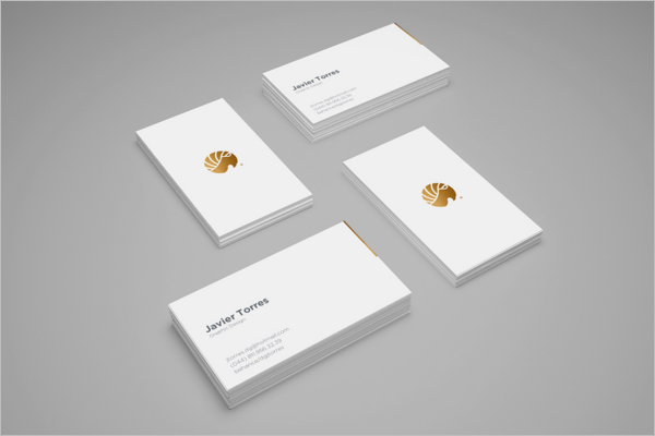 Free Business Card Mockup Design