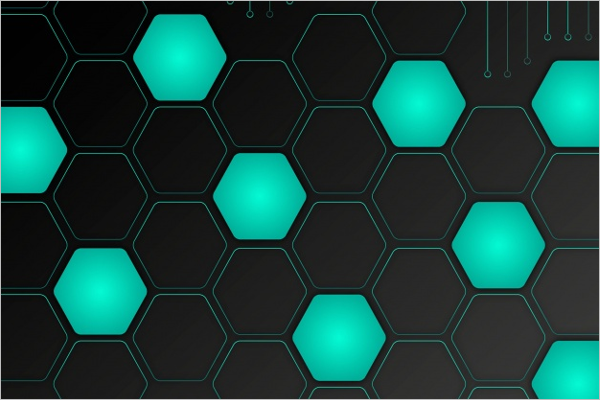 Free Hexagon Background